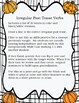 Irregular Past Tense Verbs Packet-Fall Fun