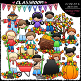 Fall Fun Kids Clip Art - Autumn Clip Art - Fall Clip Art