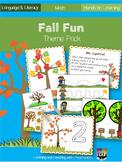 Fall Fun Lesson Plan Theme