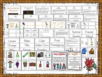 Fall Fun Lesson Plan - Week 2