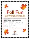 Fall Fun- Literacy, Math, Art, Music & Science Packet