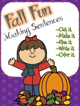 Making Sentences - Fall Fun