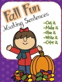 Making Sentences - Fall Fun