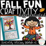 Fall Fun Math Craft-Differentiated