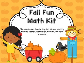Fall Math Centers / Fall Math Activities/ / Fall Math Practice / Numbers 1-10