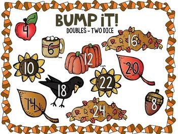Fall/Autumn Math & Literacy Centers