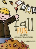 Fall/Autumn Math & Literacy Centers