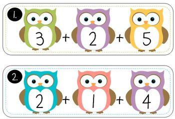 Fall Fun Math Pack (Math Centers for First Grade)
