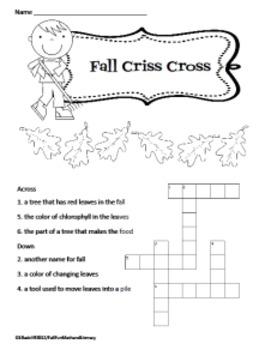 Fall Fun - Math and Literacy