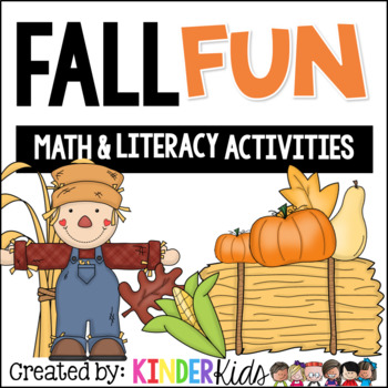 Fall Fun:  Math and Literacy Activities