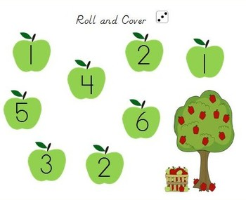 13 Fall Themed Math and Literacy Games