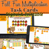 Fall Fun Multiplication - Comes with Printable and Digital