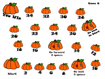 Fall Fun Number Fluency Games
