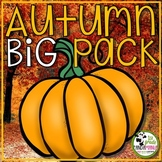 Autumn Activities for Math, Literacy, Science, and Social Studies Bundle
