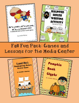 Fall Fun Pack: Games and Lessons for the Library Media Center
