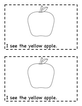 Fall Fun Packet: Easy Emergent Readers with Fix-A-Sentence