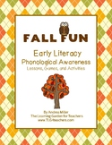Fall Fun ~ Phonological Awareness Lessons, Games, and Activities