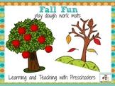 Fall Fun Play Dough Mats