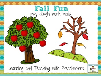 Fall Fun Play Dough Mats