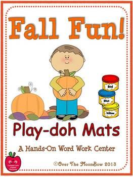 Fall Fun! Playdoh Activity Pack
