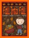 Fall Into Fall A Fall Unit: Fall Activities, Fall Printabl