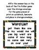 Fall Fun Sight Word Scramble Envelope Center Set 3