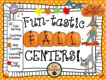 """Fall-""""Fun""""-Tastic Fall Centers!"""