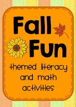 Fall Fun - Themed ELA and Math Activities