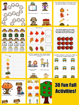 Fall Fun With Language!