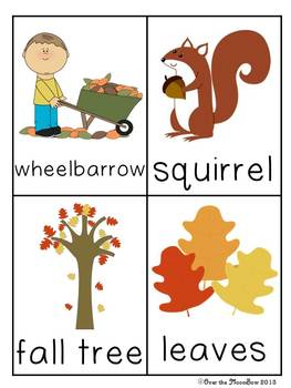 Fall Fun Write / Stamp the Room Activity Pack