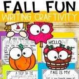 Fall Activity- Fall Writing Craftivity
