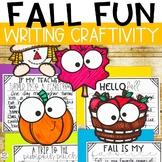 Fall Activity- Fall Writing Craftivity