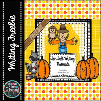 Fall Fun Writing Freebie--A Companion Activity Booklet for Barn Dance