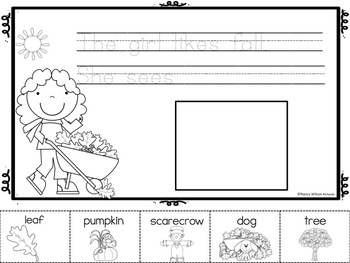 Fall Fun Writing Prompts - No Prep
