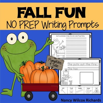 Writing Prompts  for Fall   NO PREP