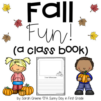 Fall Fun {class book!}