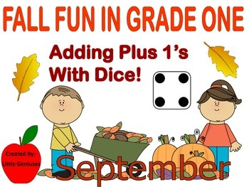 Fall Fun in Grade One: Adding Plus One More