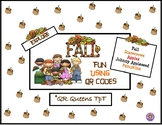 Fall Fun, Apples, and Pumpkins using QR Codes