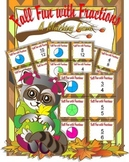 Fall Fun with Fractions Matching Game