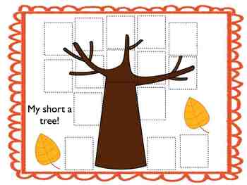 Fall Fun with Short a Words!