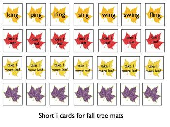 Fall Fun with Short i Words