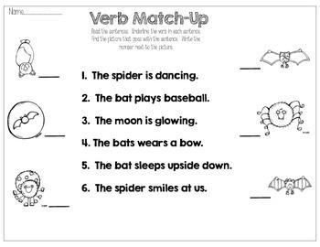 Fall Fun with Verbs
