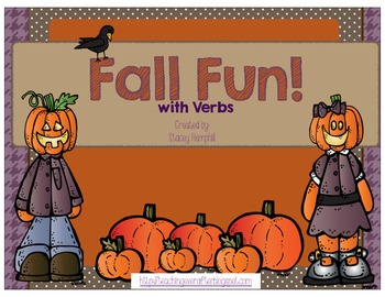 Fall Fun with Verbs