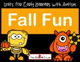 Units for Early Learners with Autism: Fall Fun