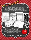 Fall Functional Format Texts and Comprehension Questions