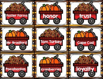 Fall Literacy Centers {CCSS ELA Centers for Second and Third Grade}
