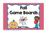 Fall Game Boards