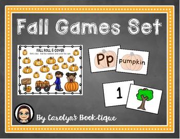 Fall Games Set