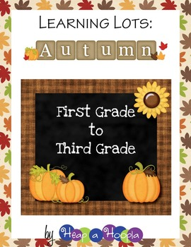 Fall Games and Activities for First, Second and Third grades