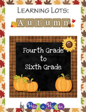 Fall Games and Activities for Fourth, Fifth and Sixth grades